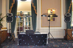 Mobile Disco set up